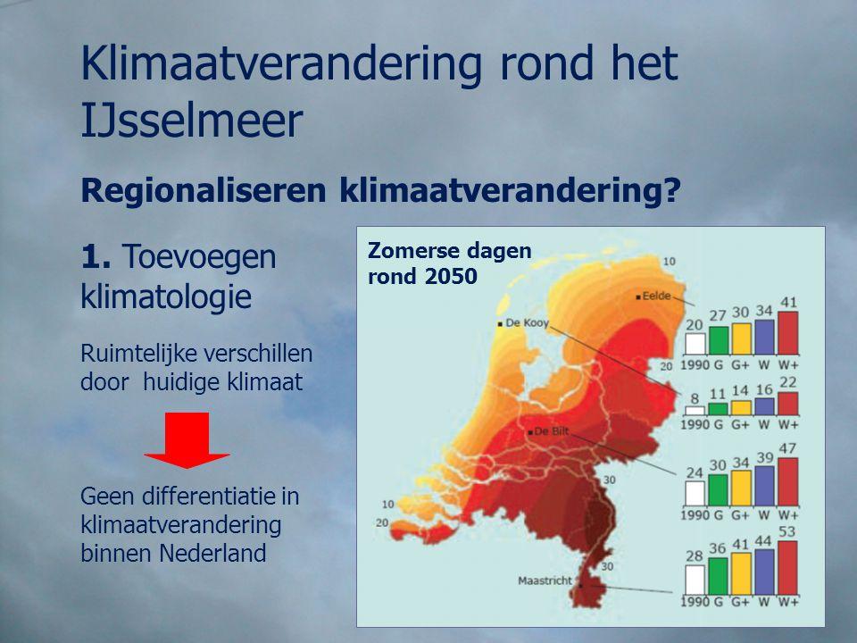 Klimaatverandering rond het IJsselmeer