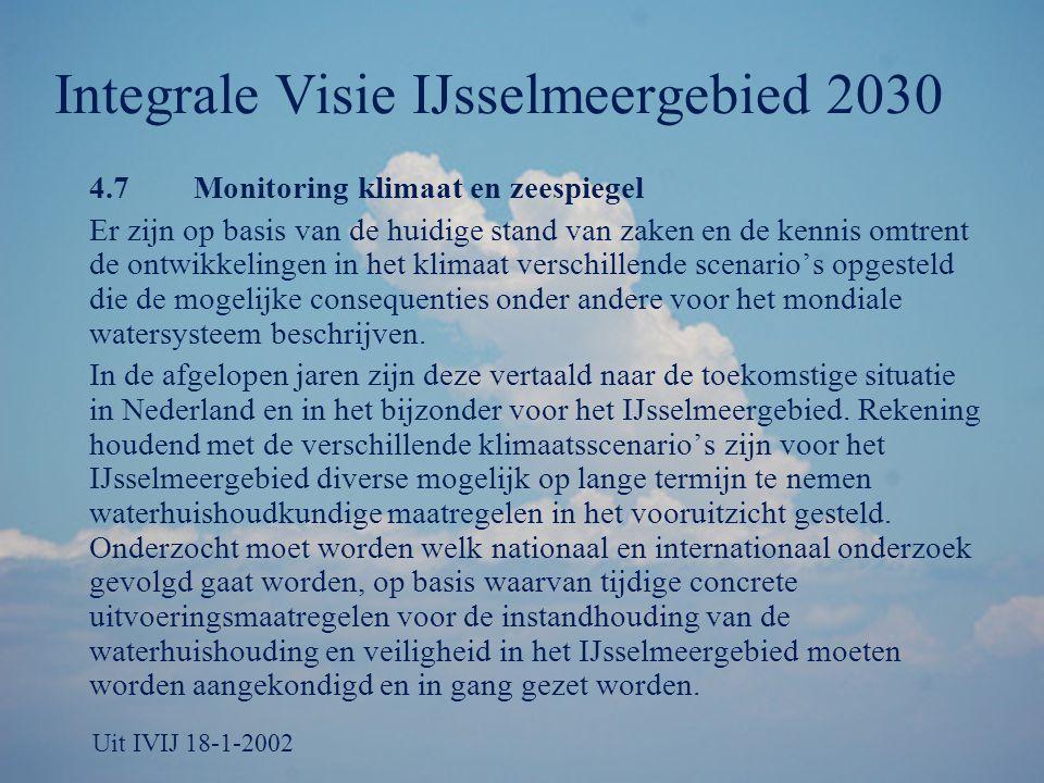 Integrale Visie IJsselmeergebied 2030