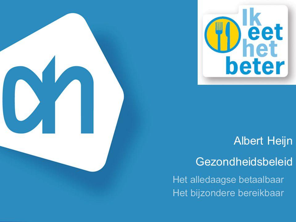 Albert Heijn Gezondheidsbeleid