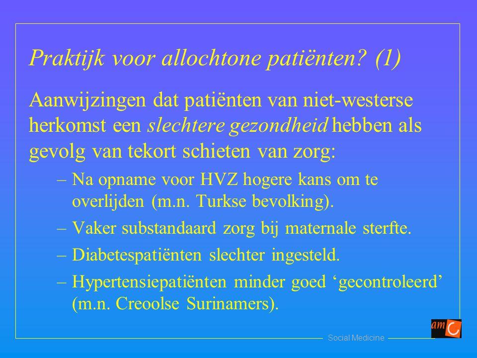 Praktijk voor allochtone patiënten (1)