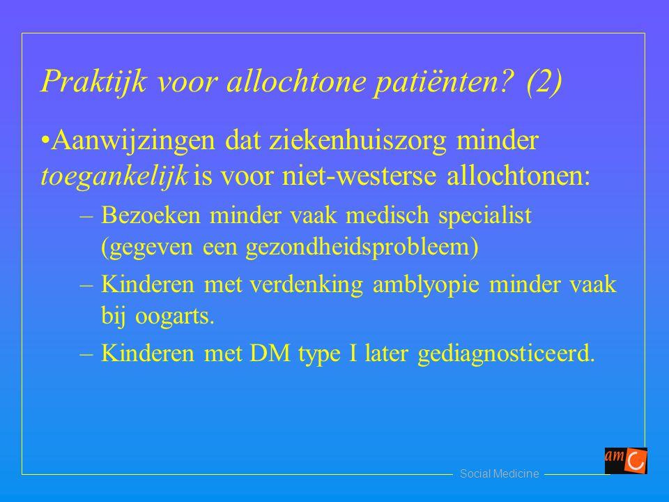 Praktijk voor allochtone patiënten (2)