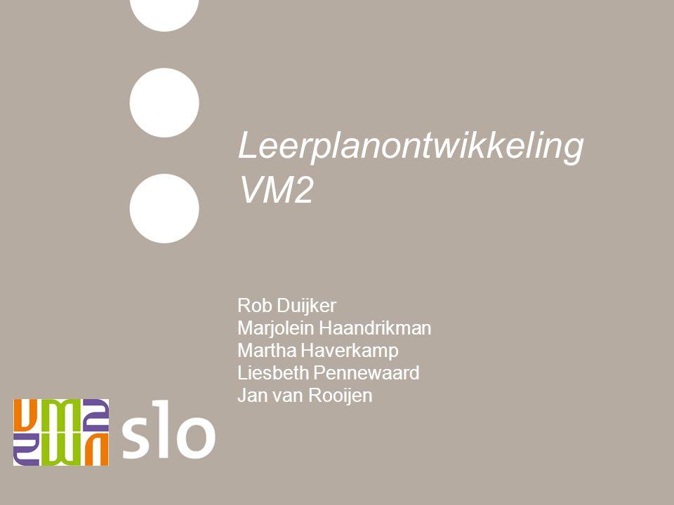 Leerplanontwikkeling VM2