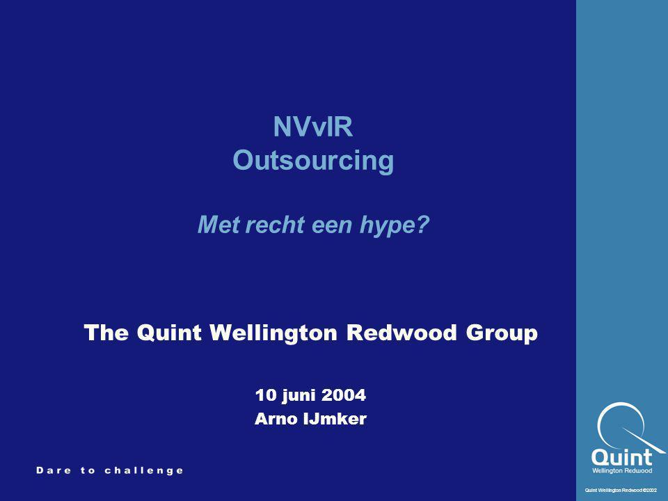 NVvIR Outsourcing Met recht een hype