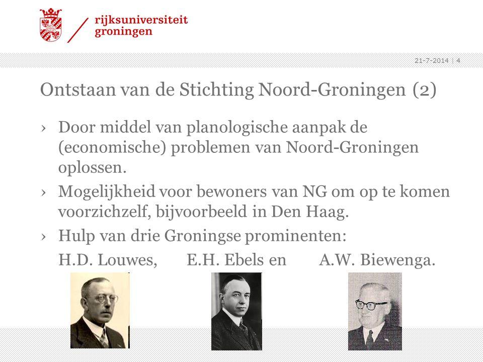 Ontstaan van de Stichting Noord-Groningen (2)