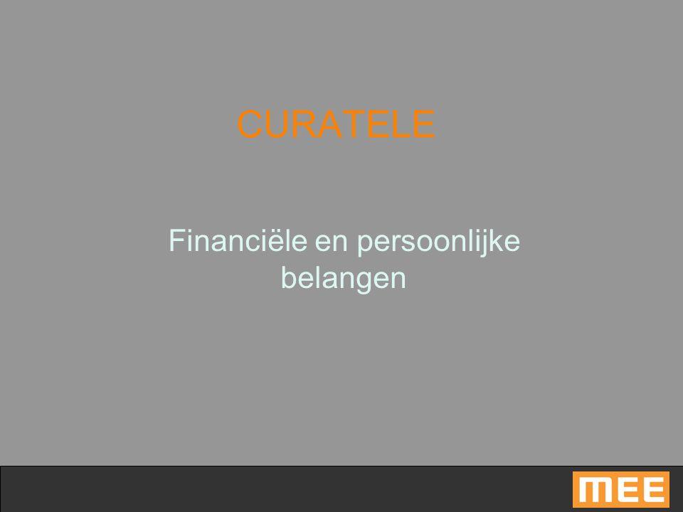 Financiële en persoonlijke belangen