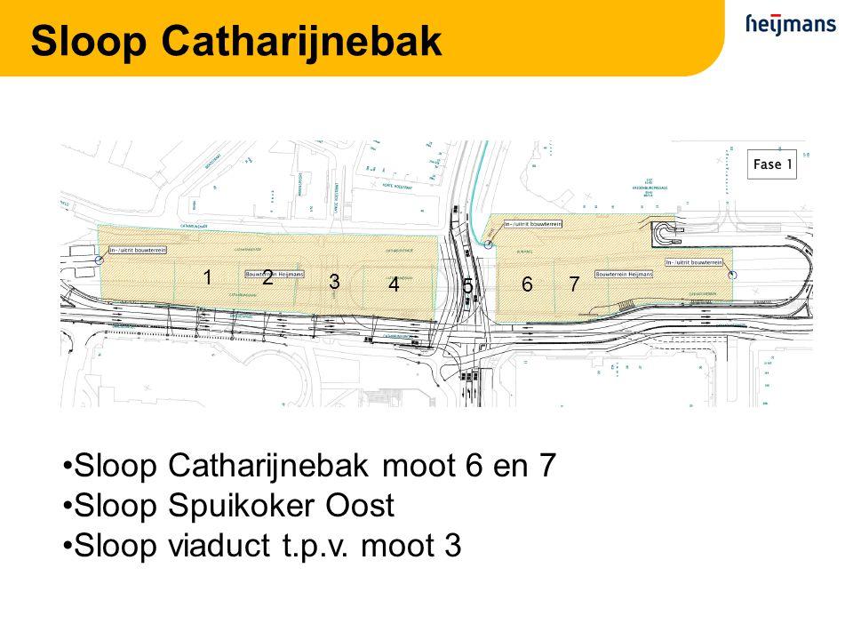 Sloop Catharijnebak Sloop Catharijnebak moot 6 en 7