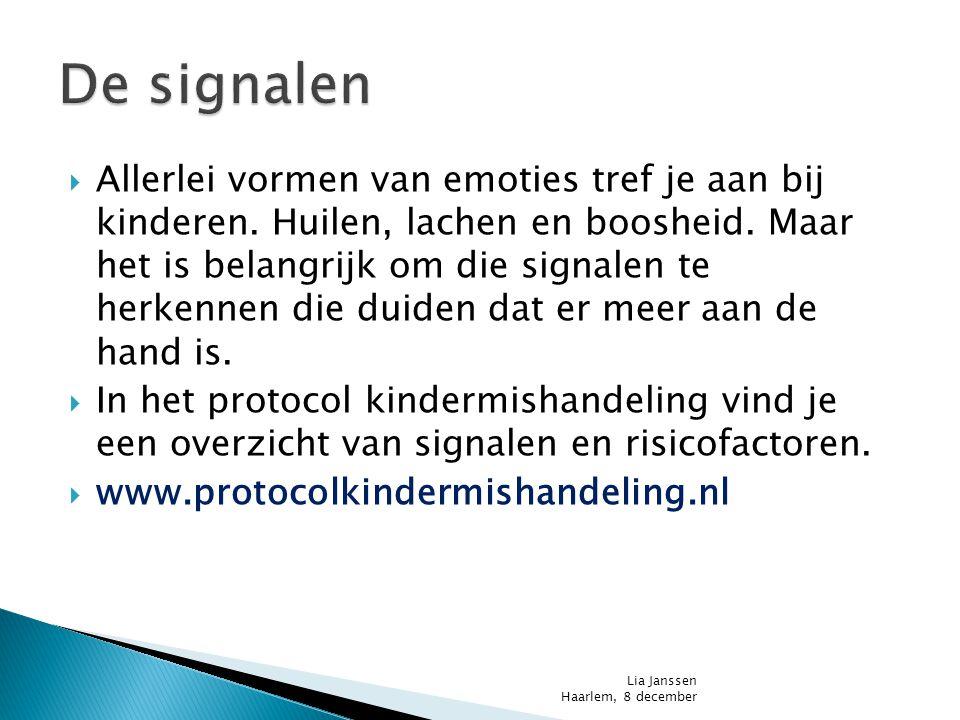 De signalen