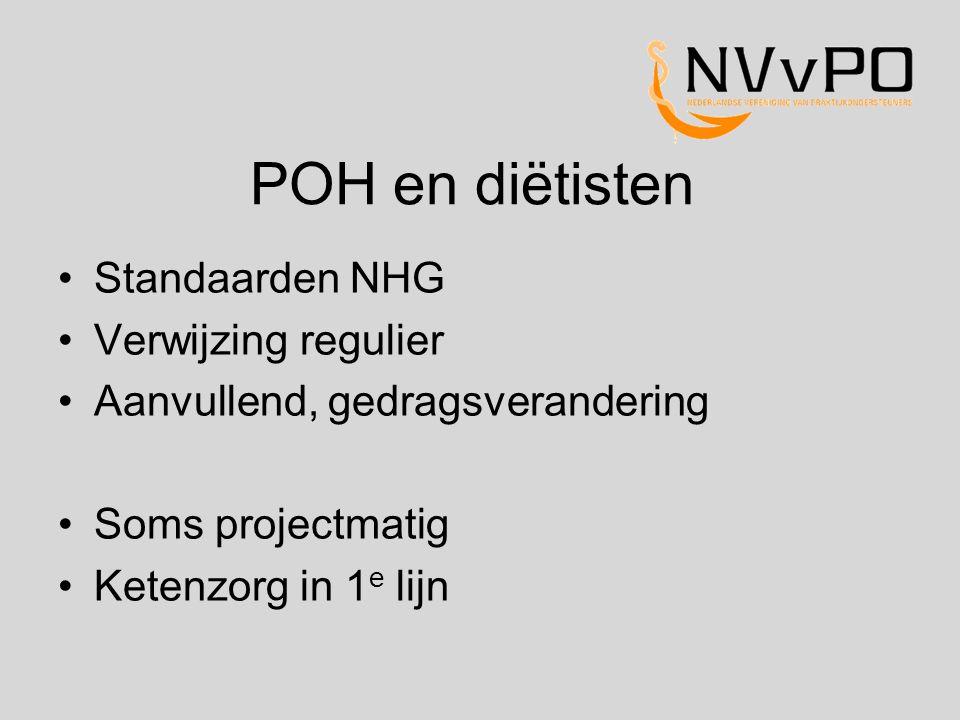 POH en diëtisten Standaarden NHG Verwijzing regulier