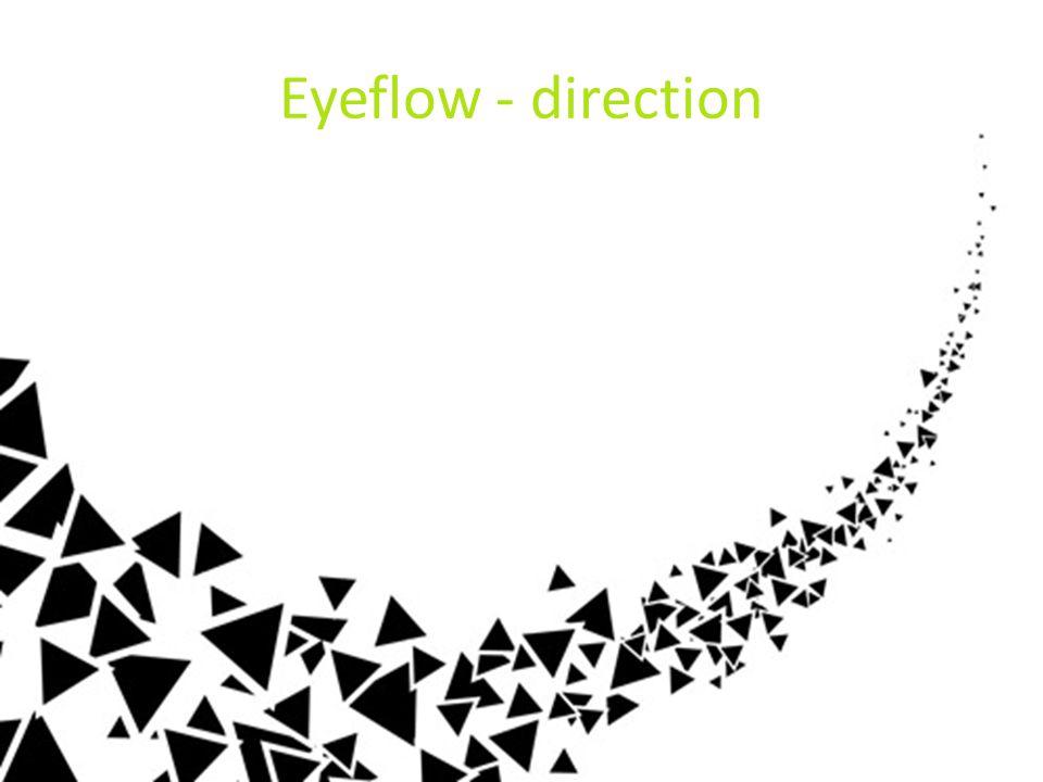 Eyeflow - direction Je kan Richting ook sturen