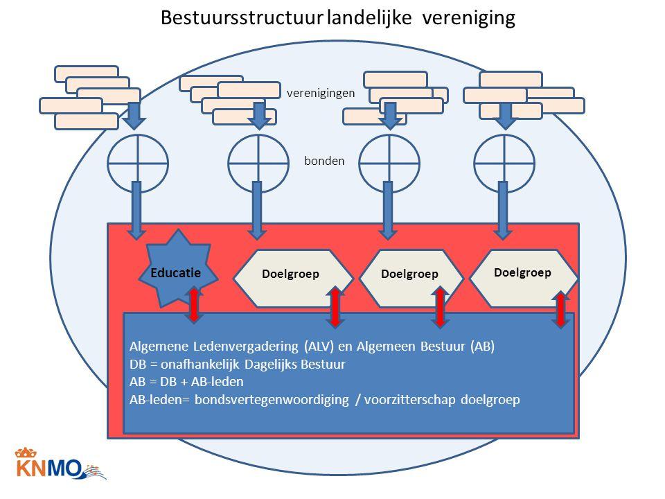 Bestuursstructuur landelijke vereniging