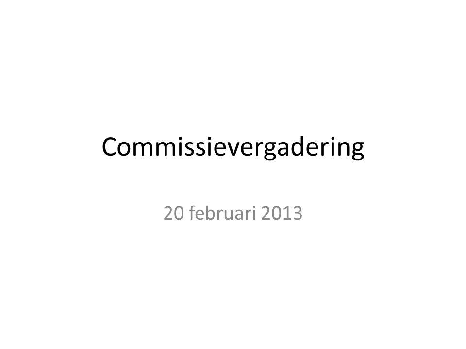 Commissievergadering