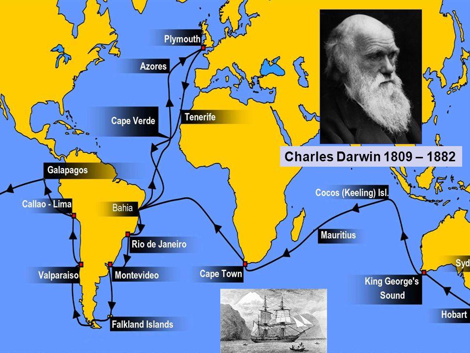 Charles Darwin 1809 – 1882
