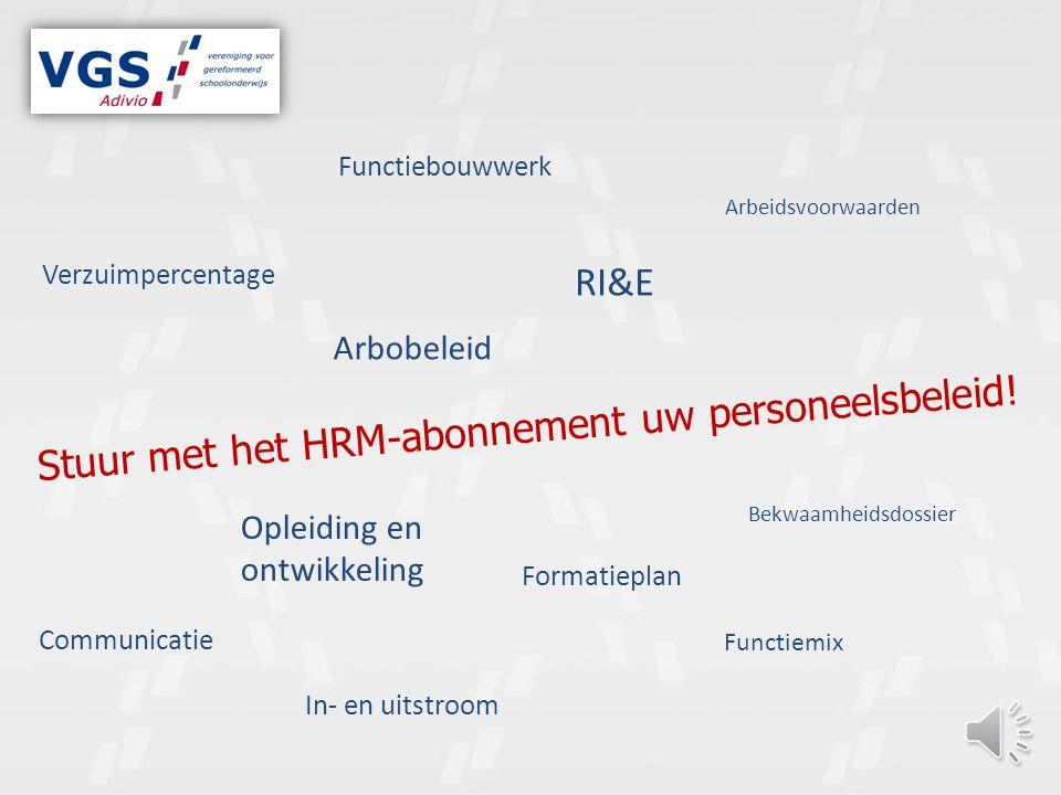 Stuur met het HRM-abonnement uw personeelsbeleid!