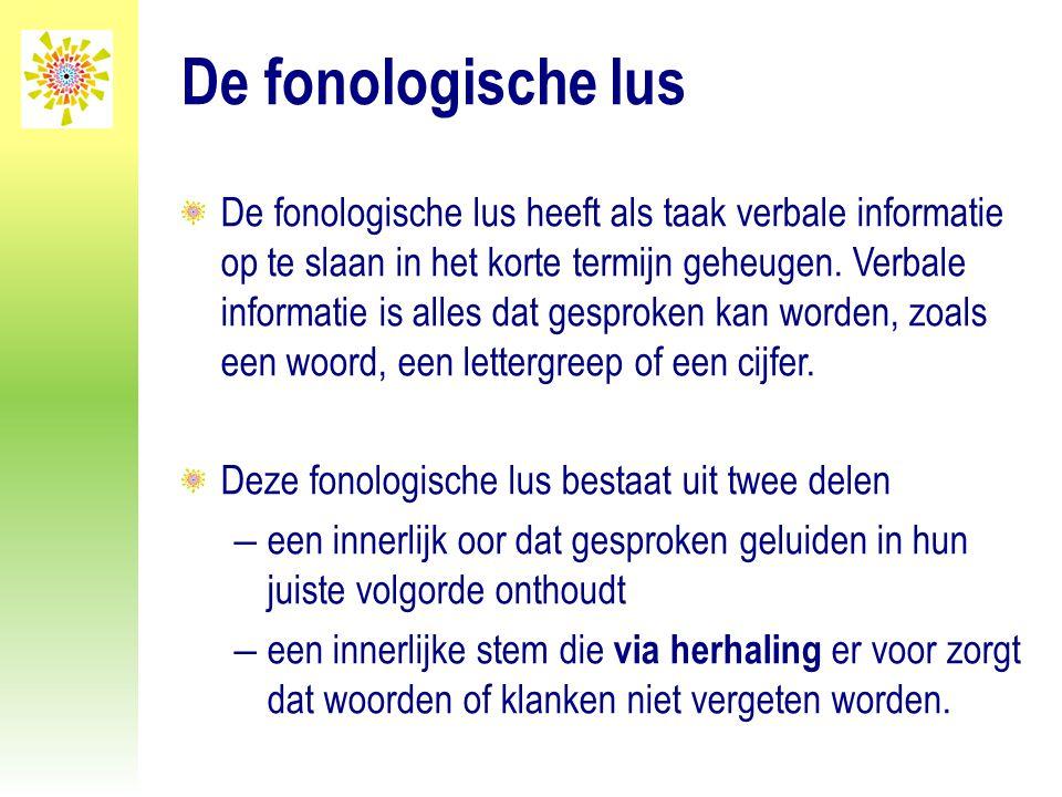 De fonologische lus