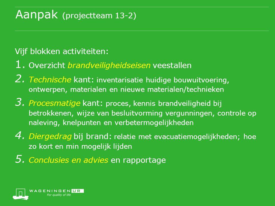 Aanpak (projectteam 13-2)