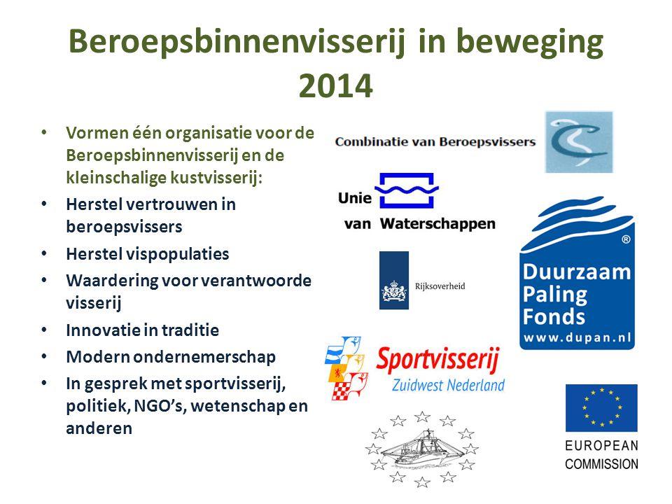 Beroepsbinnenvisserij in beweging 2014
