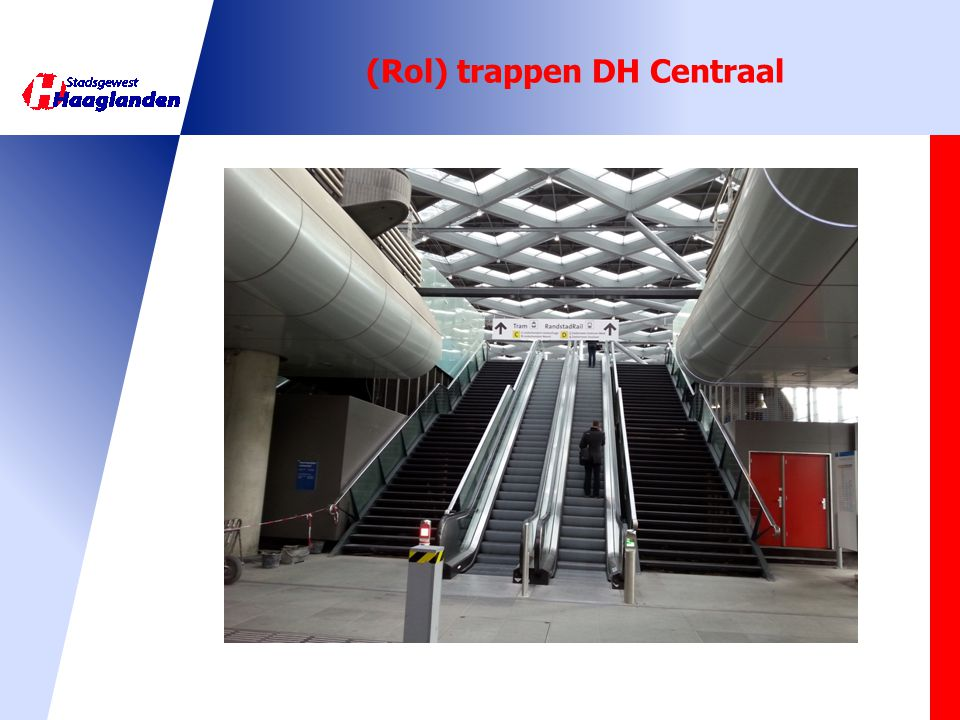 (Rol) trappen DH Centraal
