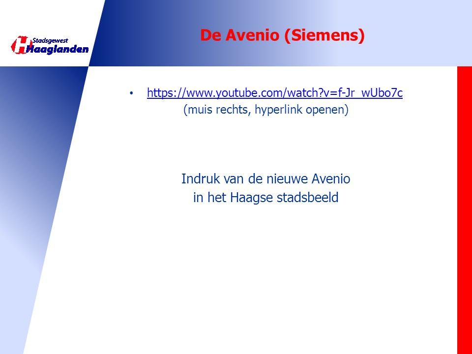 De Avenio (Siemens) Indruk van de nieuwe Avenio