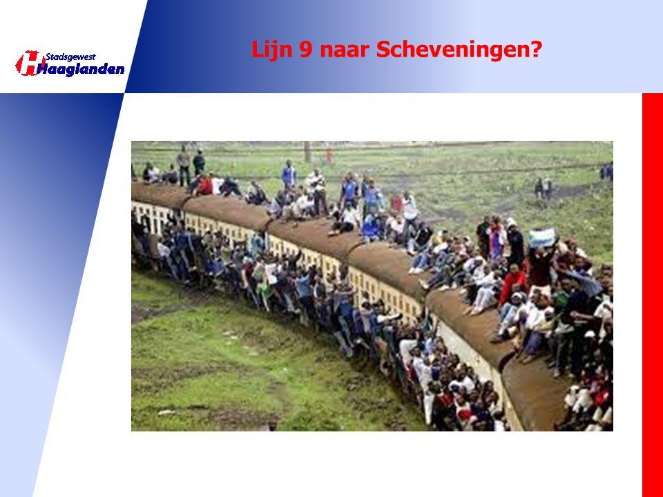 Lijn 9 naar Scheveningen