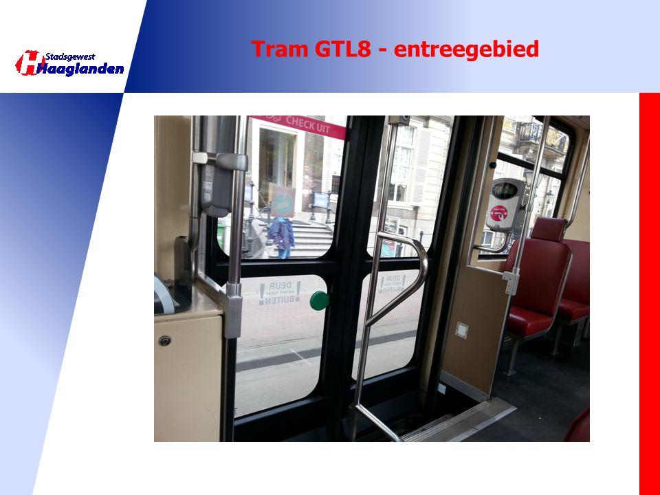 Tram GTL8 - entreegebied
