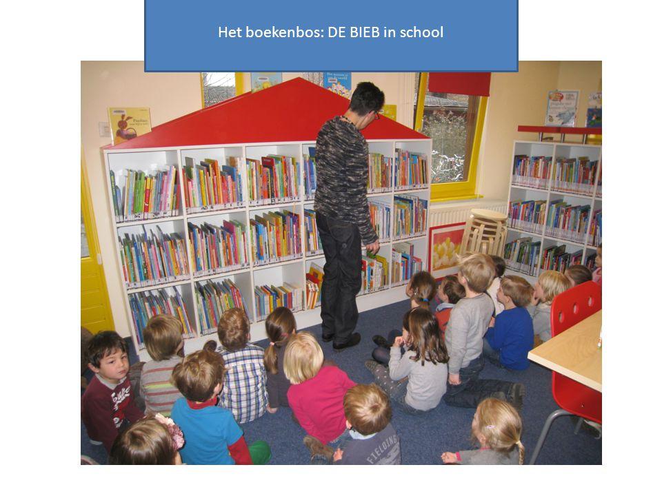 Het boekenbos: DE BIEB in school