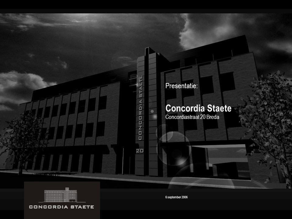 Concordia Staete Presentatie: Concordiastraat 20 Breda