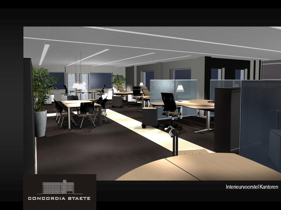 Interieurvoorstel Kantoren