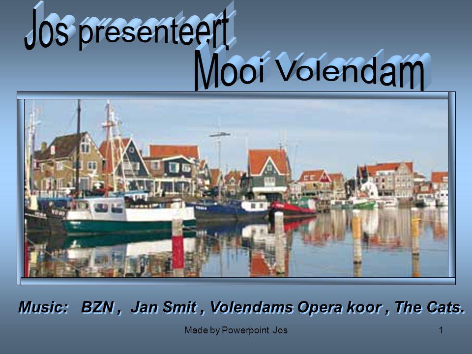 Jos presenteert Mooi Volendam