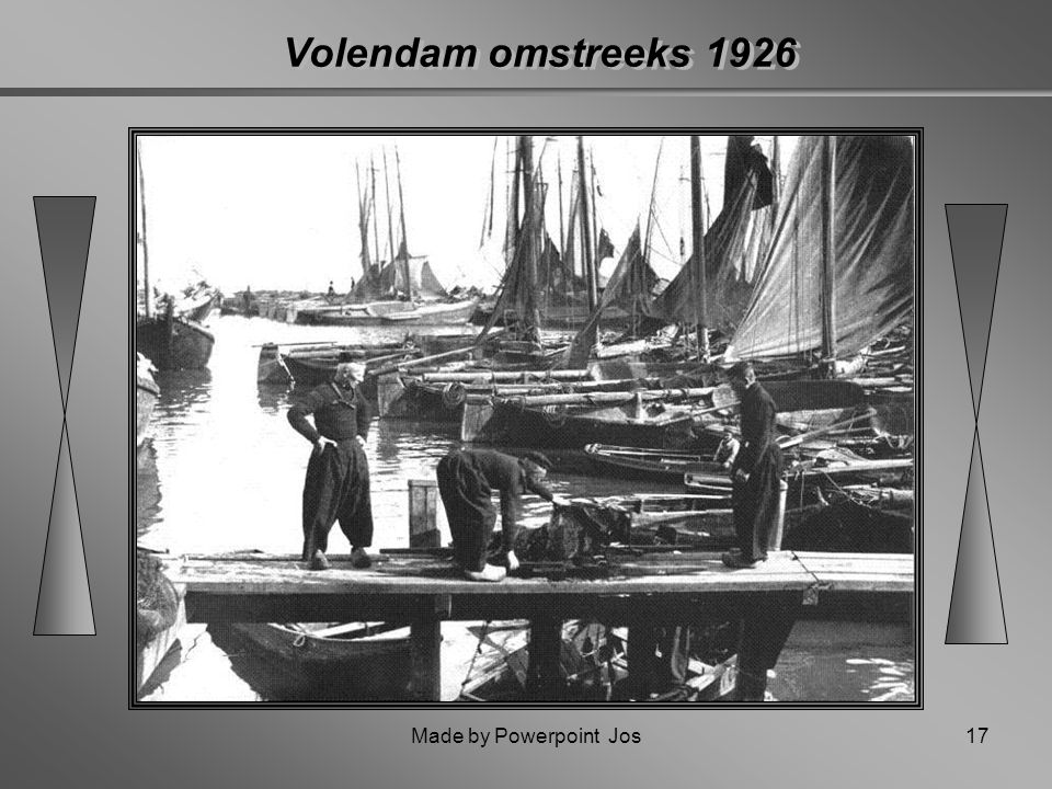 Volendam omstreeks 1926 Made by Powerpoint Jos