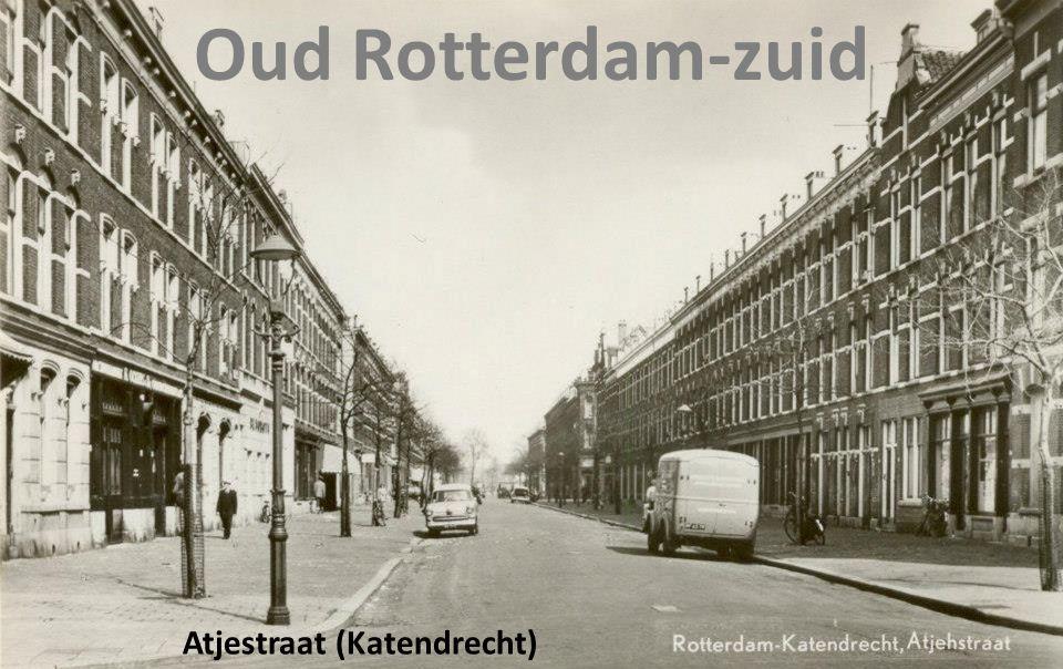 Oud Rotterdam-zuid Atjestraat (Katendrecht)