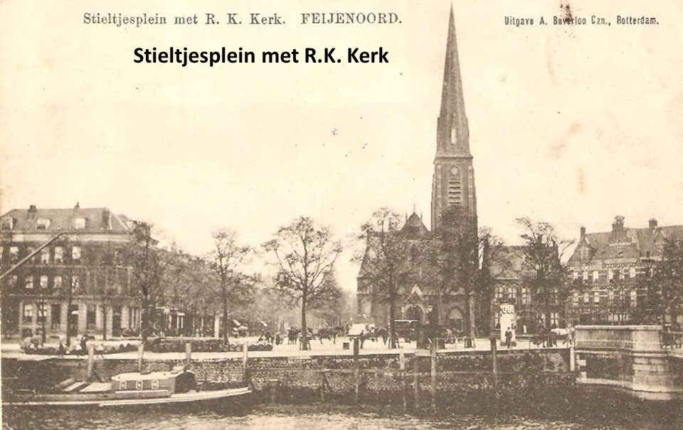Stieltjesplein met R.K. Kerk
