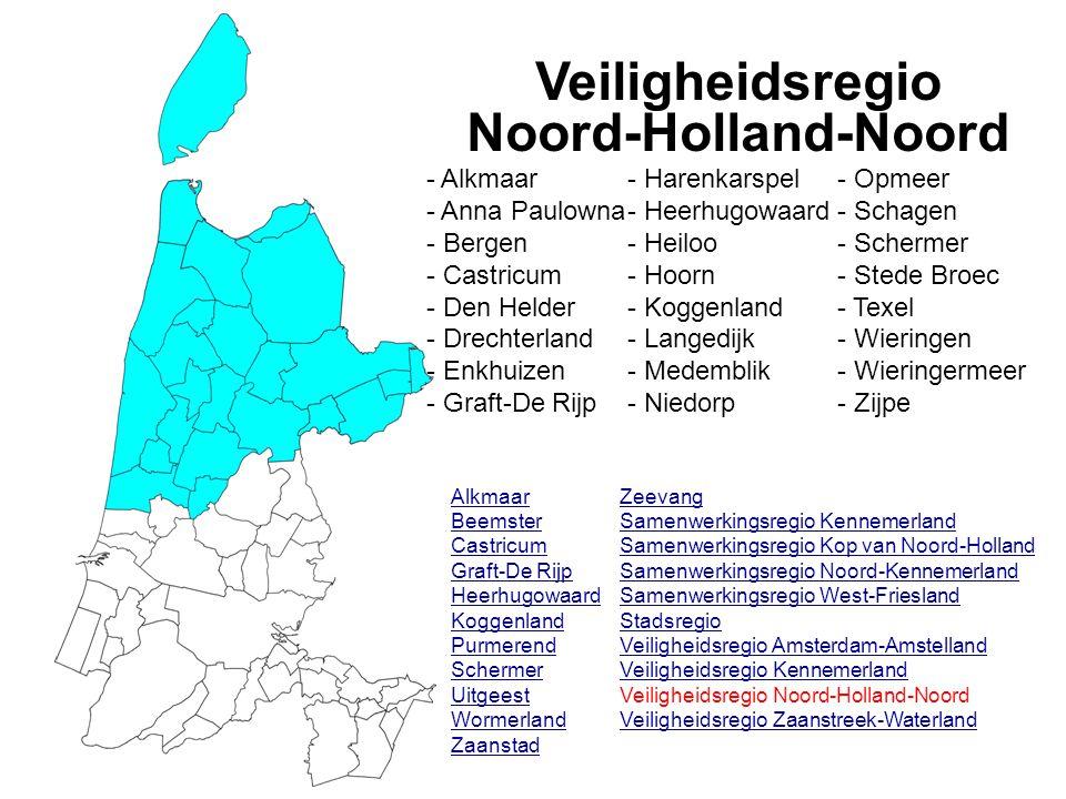 Veiligheidsregio Noord-Holland-Noord