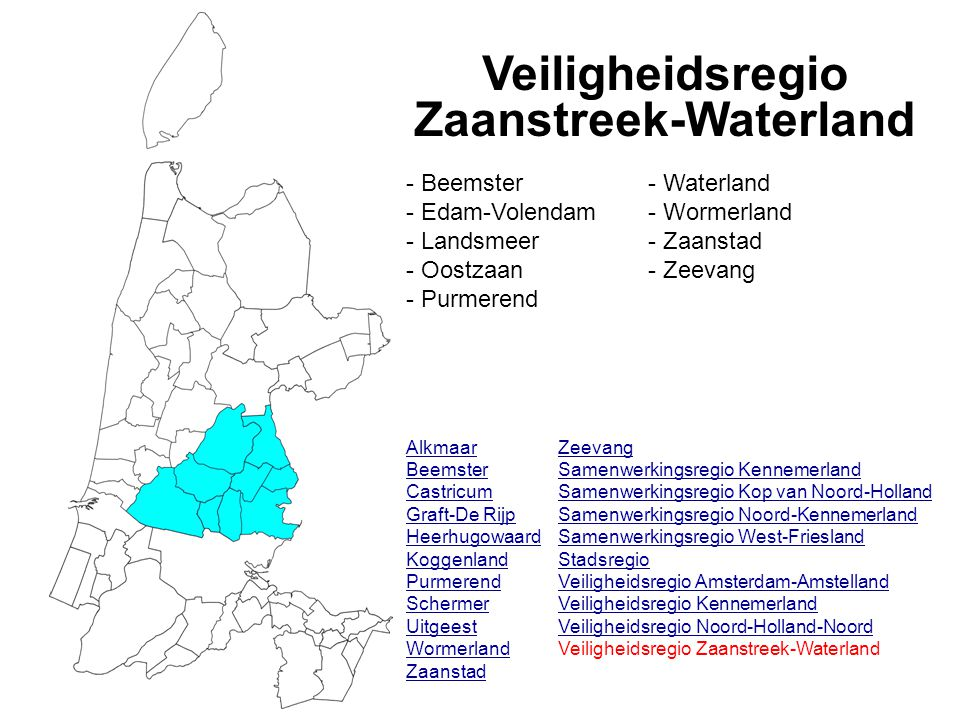 Veiligheidsregio Zaanstreek-Waterland