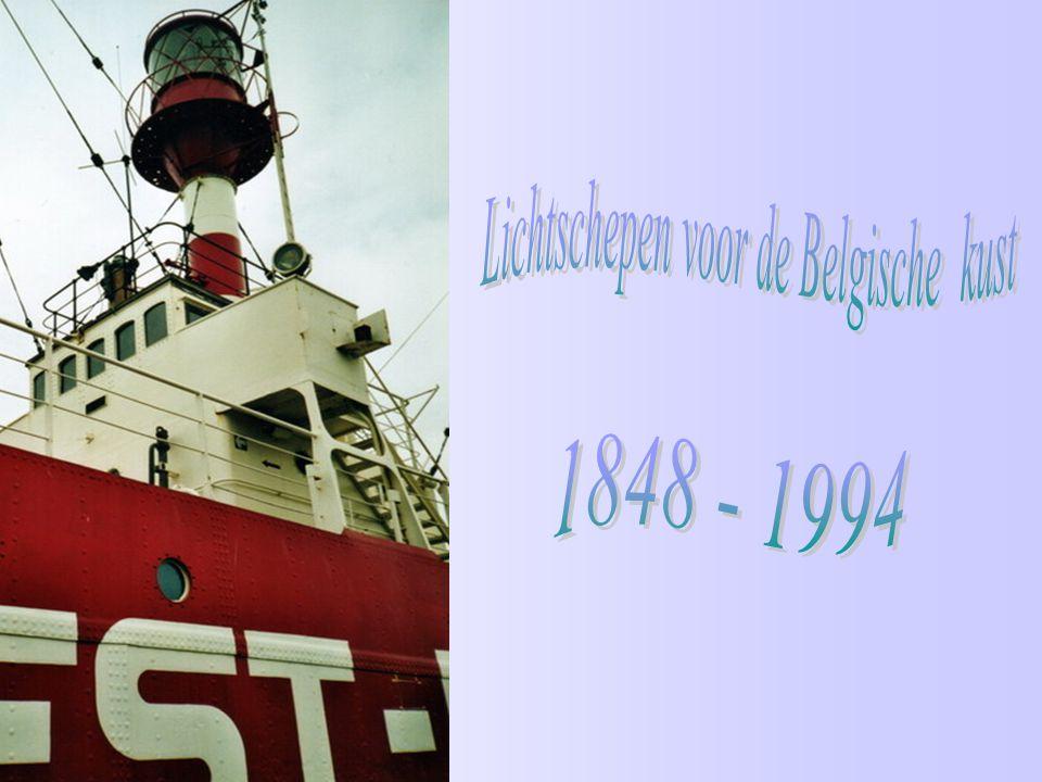 Lichtschepen voor de Belgische kust