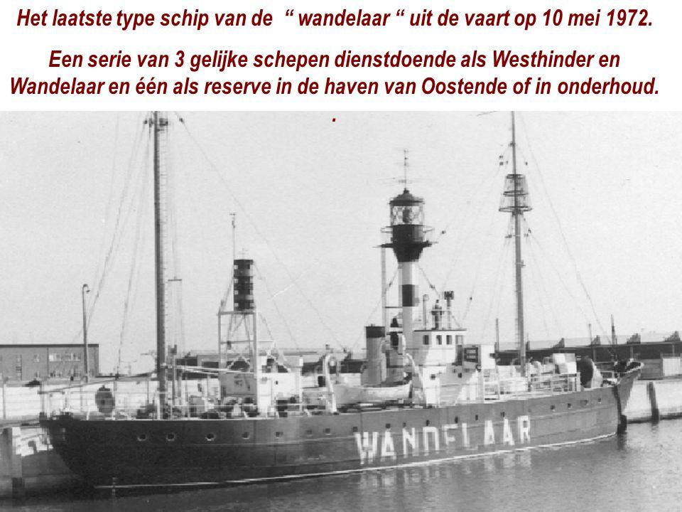 Het laatste type schip van de wandelaar uit de vaart op 10 mei 1972.