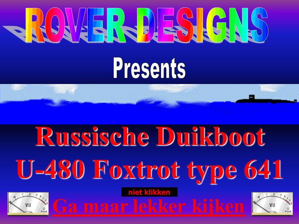 Russische Duikboot U-480 Foxtrot type 641