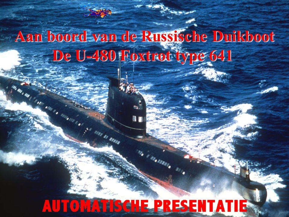 Aan boord van de Russische Duikboot