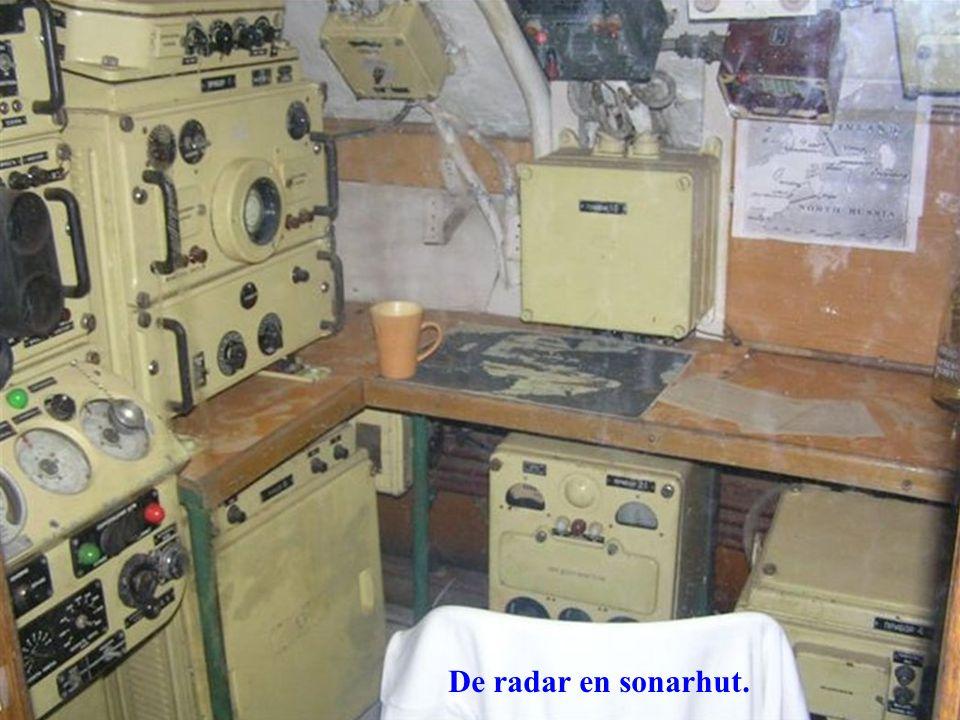 De radar en sonarhut.