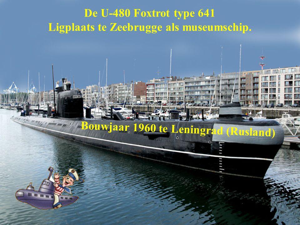 Ligplaats te Zeebrugge als museumschip.