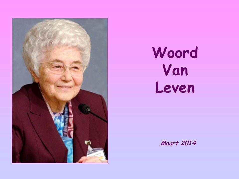 Woord Van Leven Maart 2014