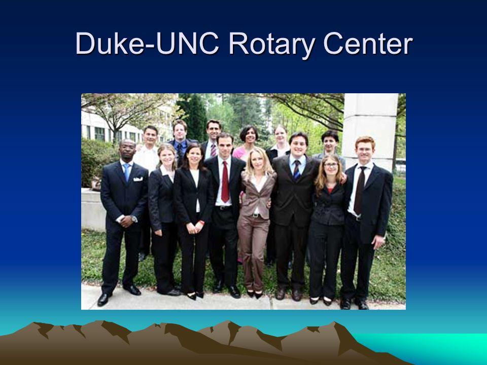 Duke-UNC Rotary Center