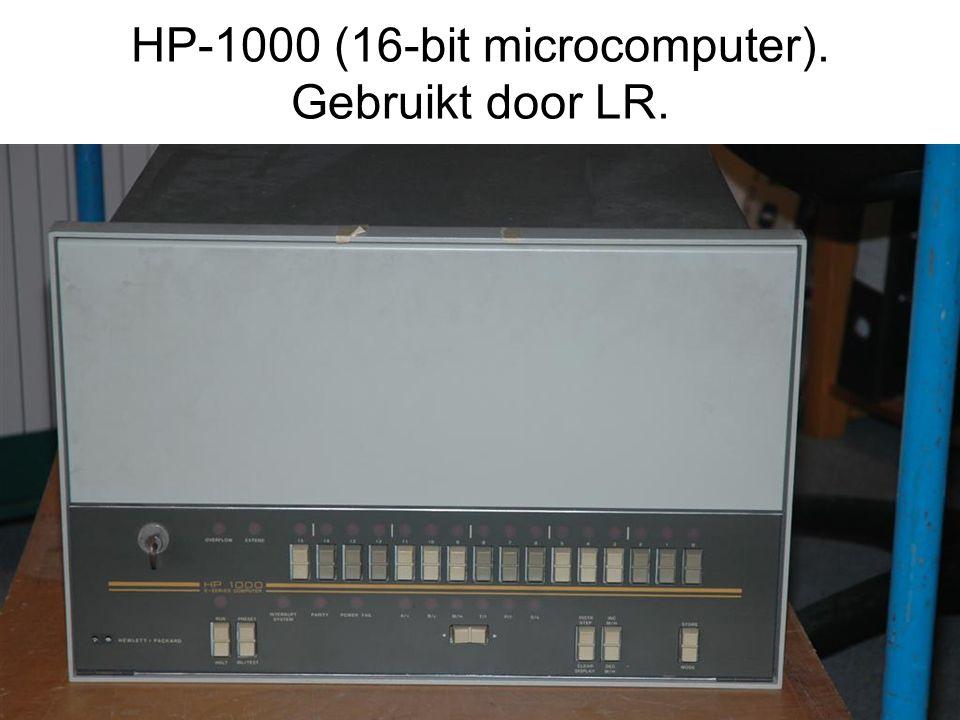 HP-1000 (16-bit microcomputer). Gebruikt door LR.