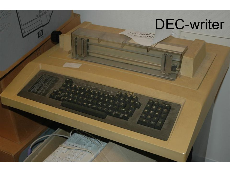 DEC-writer