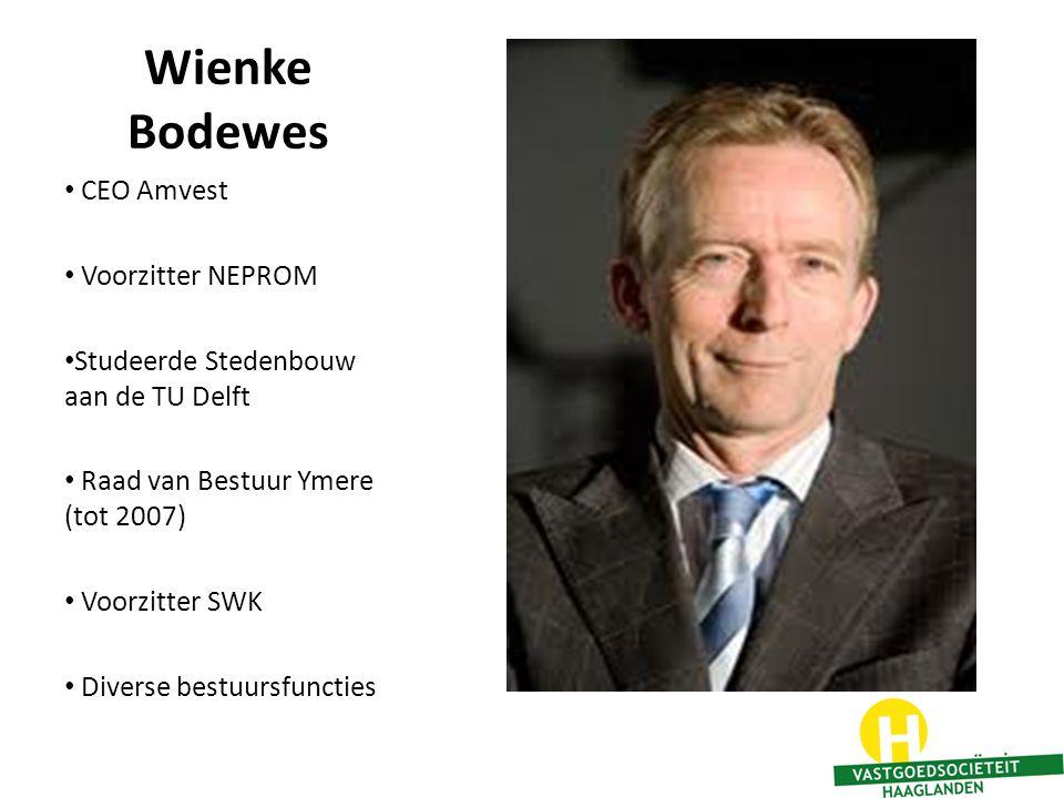 Wienke Bodewes CEO Amvest Voorzitter NEPROM