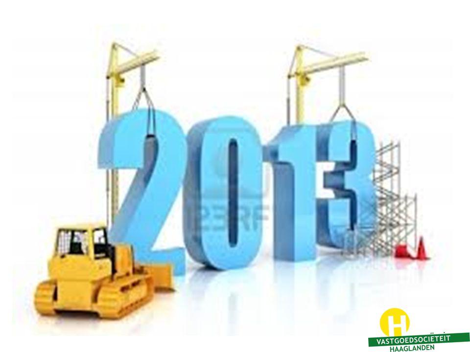En met u allen gaan we vandaag vooruit kijken naar 2013…