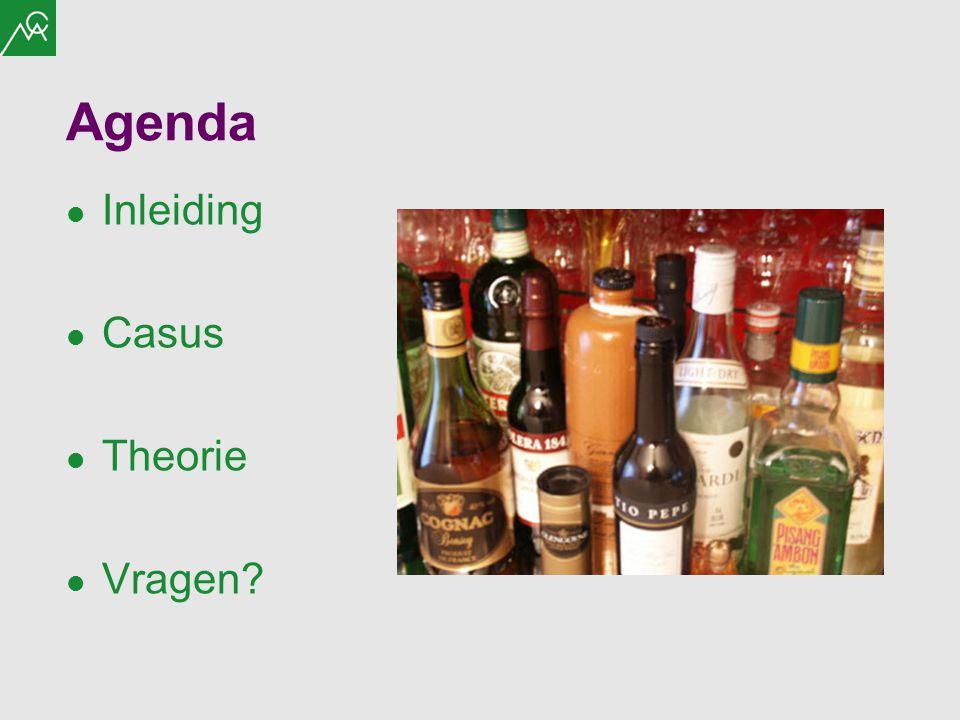 Agenda Inleiding Casus Theorie Vragen