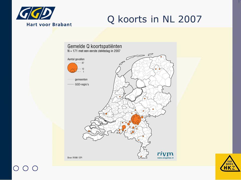 Q koorts in NL 2007