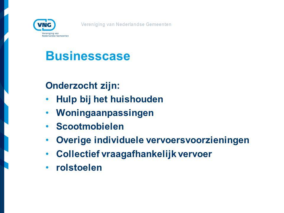 Businesscase Onderzocht zijn: Hulp bij het huishouden