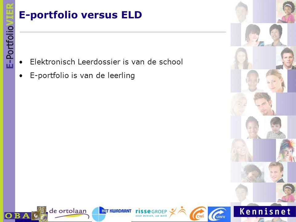 E-portfolio versus ELD