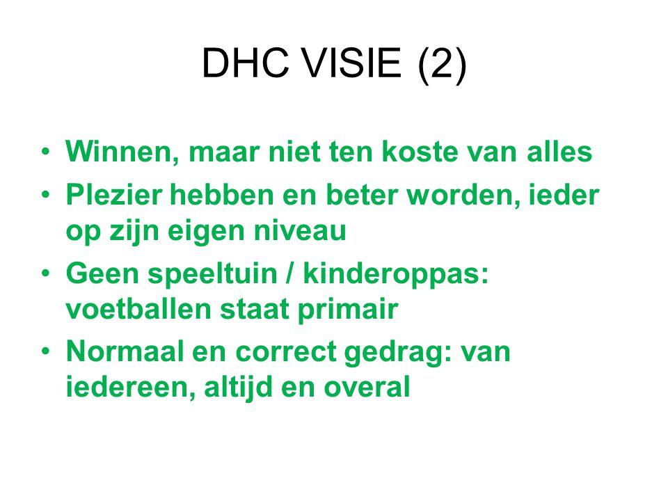 DHC VISIE (2) Winnen, maar niet ten koste van alles